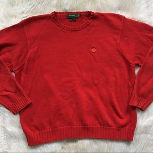 Lauren Ralph Lauren Red Crewneck Sweater
